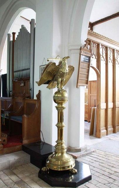 St Mary, Ellingham, Norfolk - Lectern