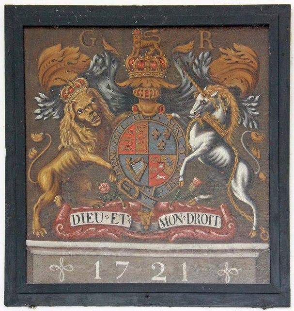 St Mary, Ellingham, Norfolk - Royal Arms