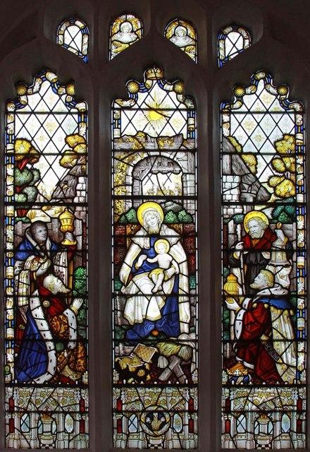 St Mary, Ellingham, Norfolk - Window