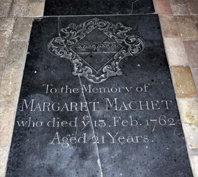 St Mary, Ellingham, Norfolk - Ledger slab