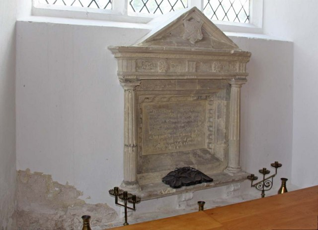 St Mary, Ellingham, Norfolk - Monument