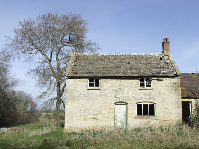 Old ruined cottage