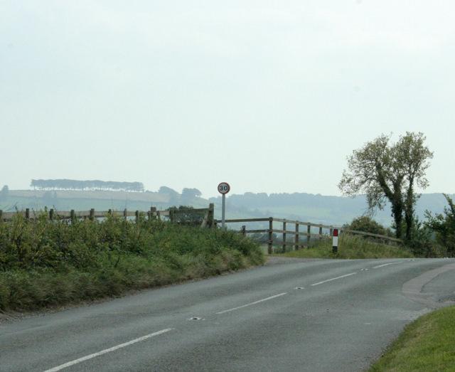 2009 : Minor road near Abson