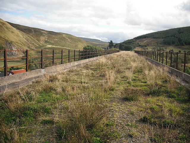 South end of Shankend Viaduct