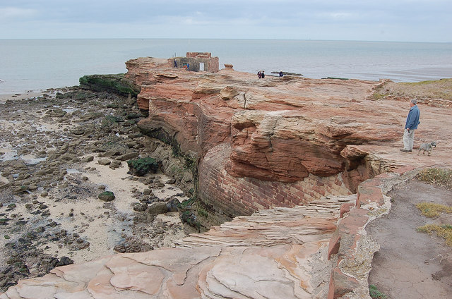 Northern end of Hilbre Island