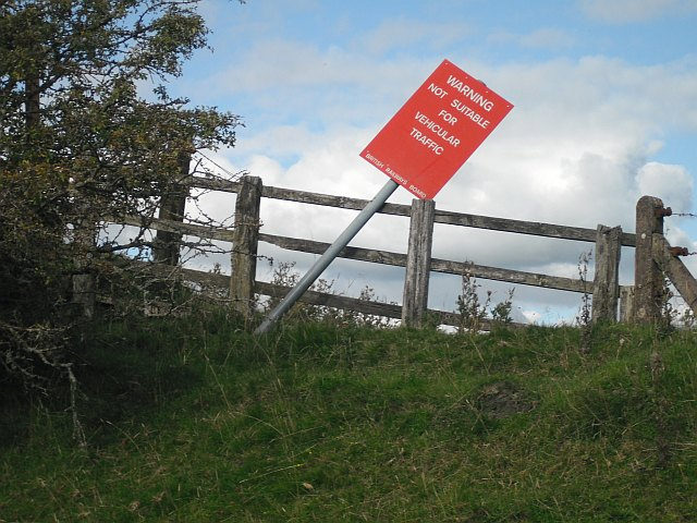 Sign, Waverley Line