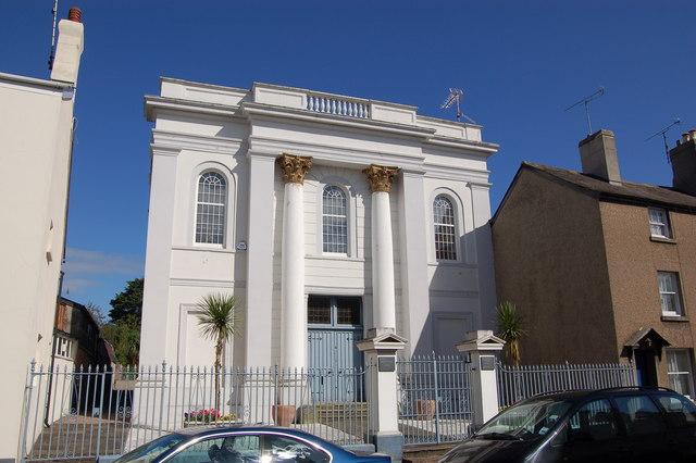Former Congregational Chapel in Glendower Street, Monmouth