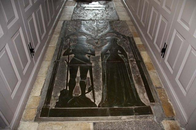 St Margaret of Antioch, Norfolk - Brass