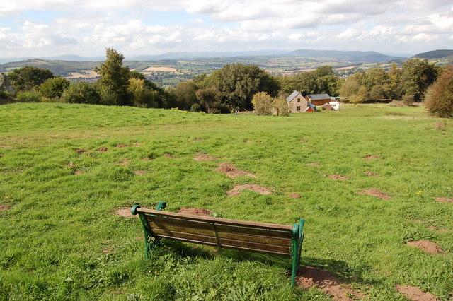 Viewpoint below the Kymin