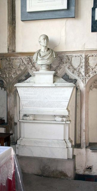 St Margaret of Antioch, Norfolk - Wall monument