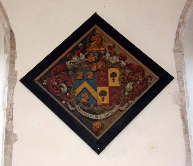 St Margaret of Antioch, Norfolk - Hatchment