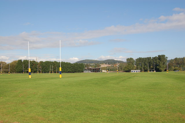 Monmouth School playing field