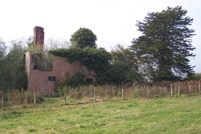 Ruins of Brick Kiln Farm