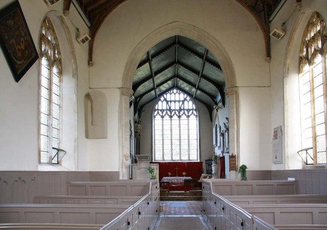St Margaret of Antioch, Norfolk - East end