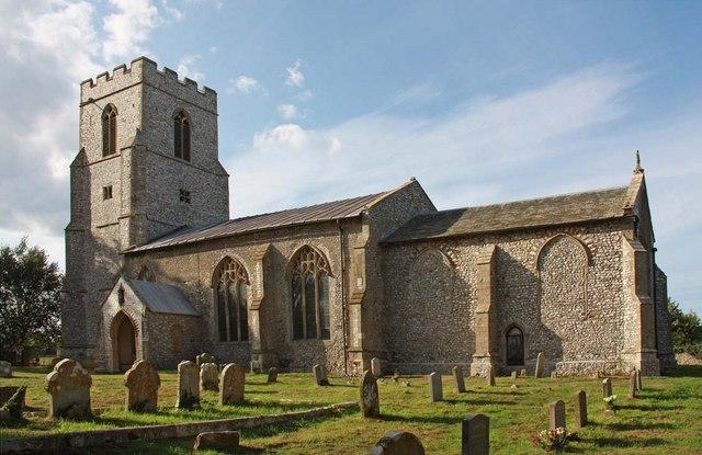 St Margaret of Antioch, Norfolk