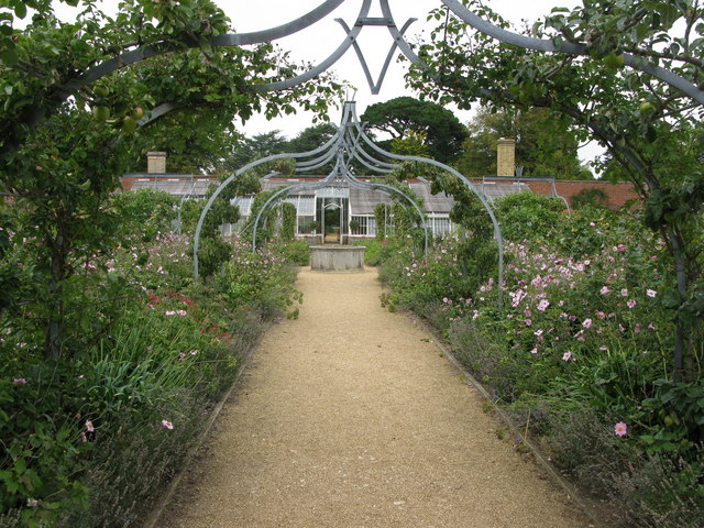 The walled garden at Osborne House