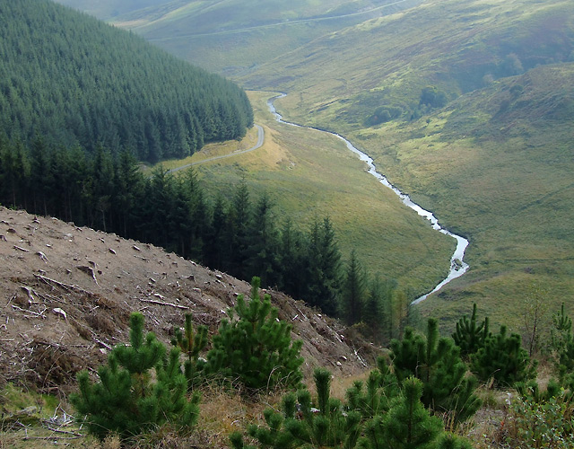 The Camddwr Valley, Ceredigion