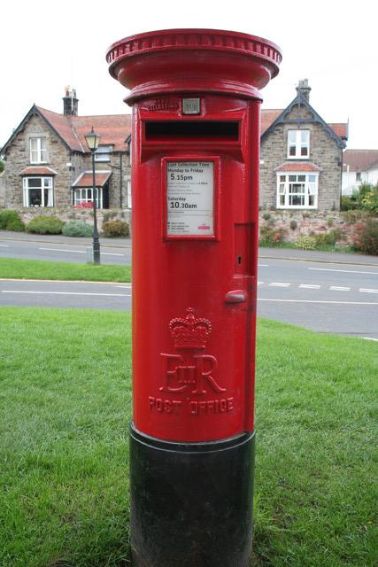 Elizabeth II Postbox, Bamburgh