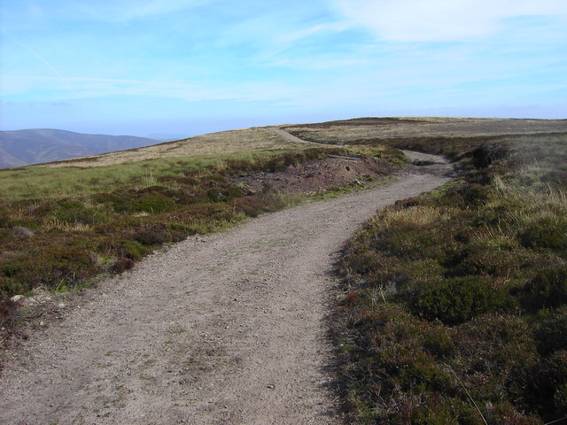 Landrover track on Laidwinley
