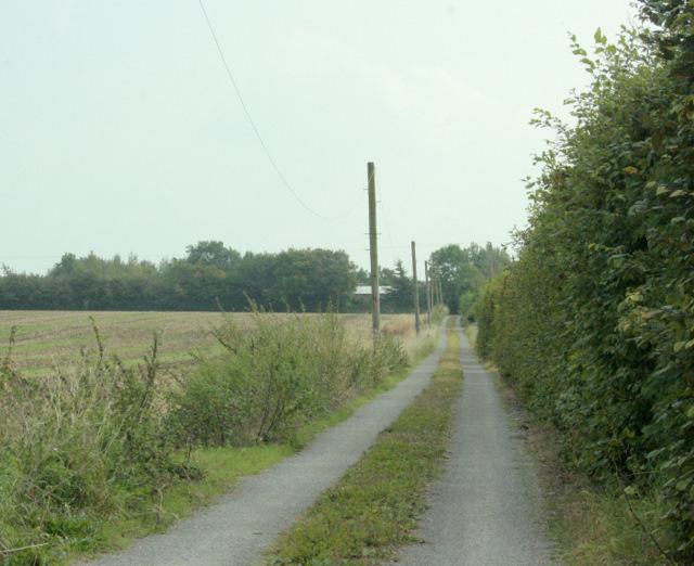 2009 : Entrance to Clovermead Farm