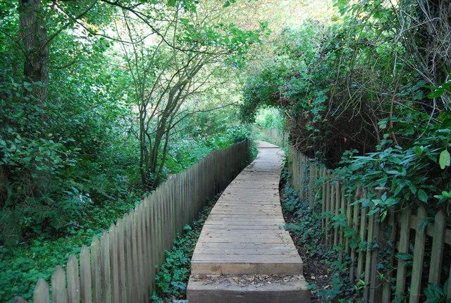 Boardwalk, Footpath to Crockham Hill
