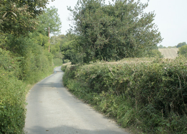 2009 : Lodge Road, heading for Abson