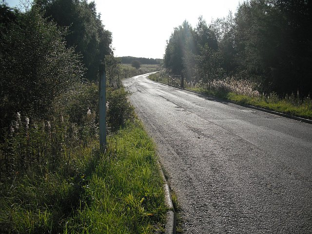 Colliery road, Meikle Drumgray