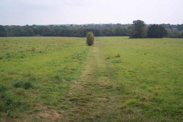The High Weald Landscape Trail leads to Baker's Cross