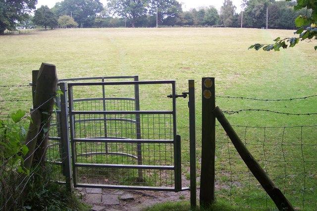 Kissing Gate near Well Wood