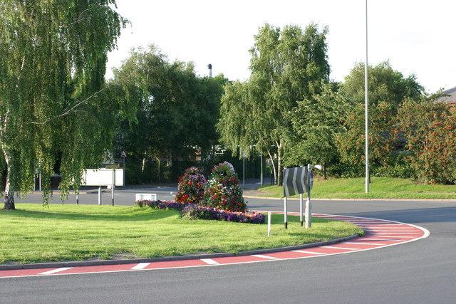 Traffic Island between Lichfield Street and Lichfield Road  (2)