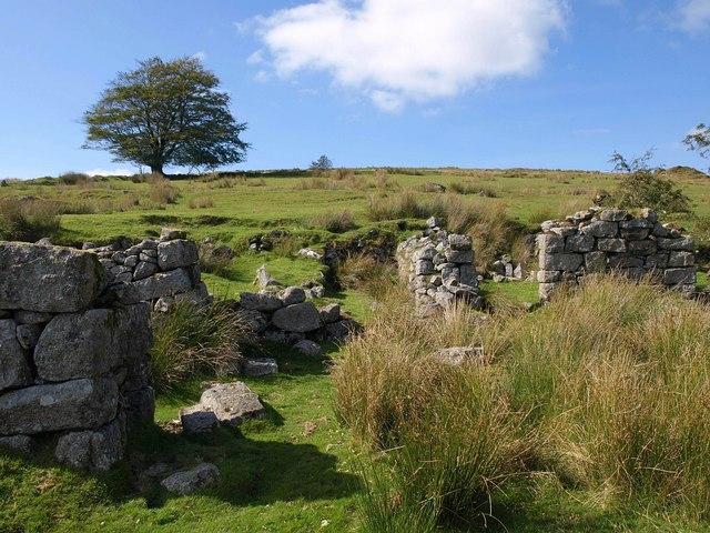 Ruins at Whiteworks
