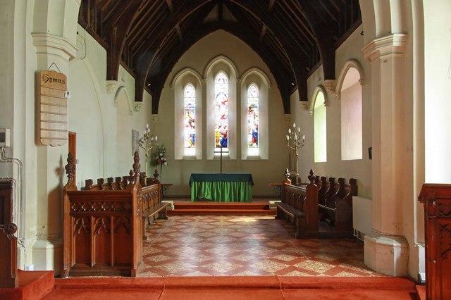 All Saints, North Wootton, Norfolk - Chancel