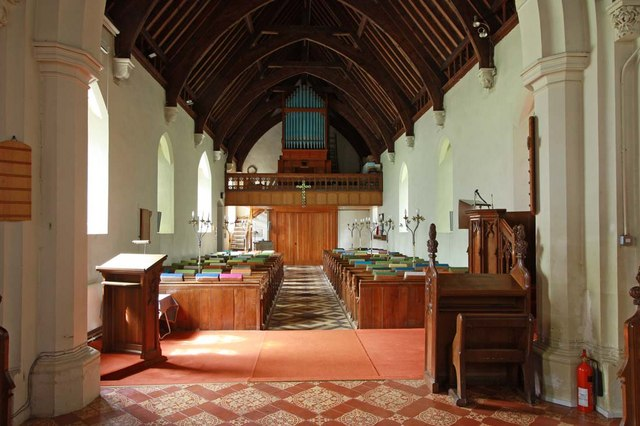 All Saints, North Wootton, Norfolk - West end
