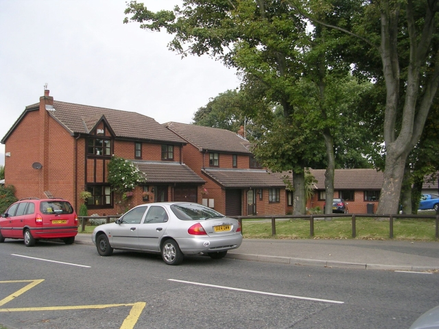 Grange Park Close - Westwood Side