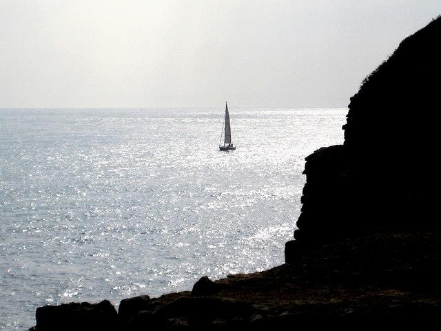 The darkening cliffs - Winspit