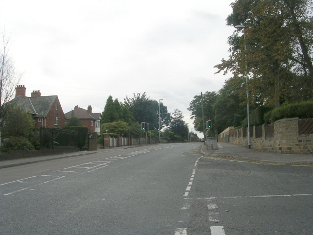 Victoria Road - viewed from Westwood Side