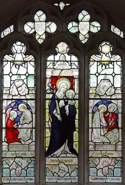 St Mary, South Wootton, Norfolk - Window