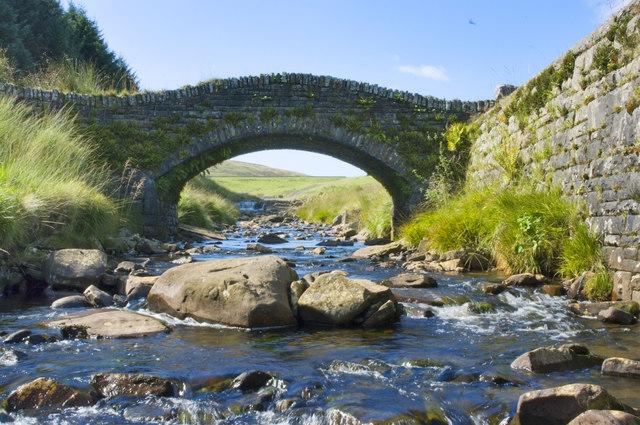 Pont Lluest-Wen Bridge
