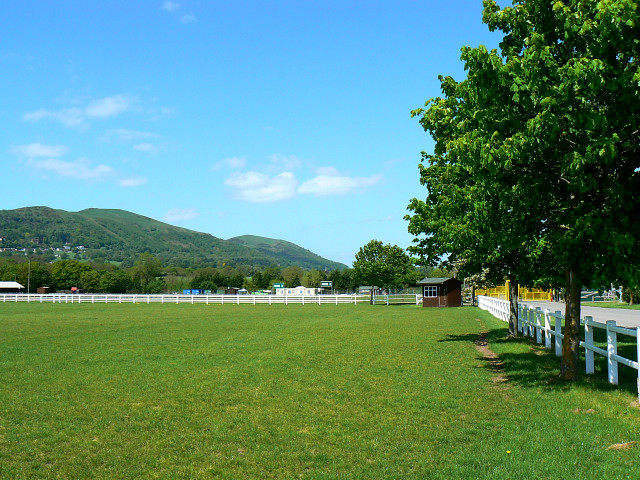 Part of the Three Counties Showground, Malvern