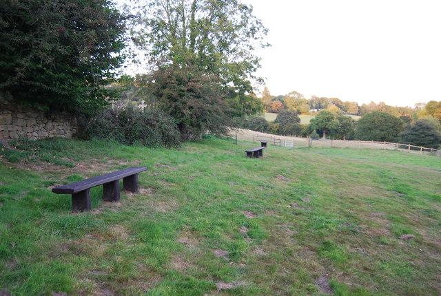 Picnic Area by Holy Trinity Church, Crockham Hill