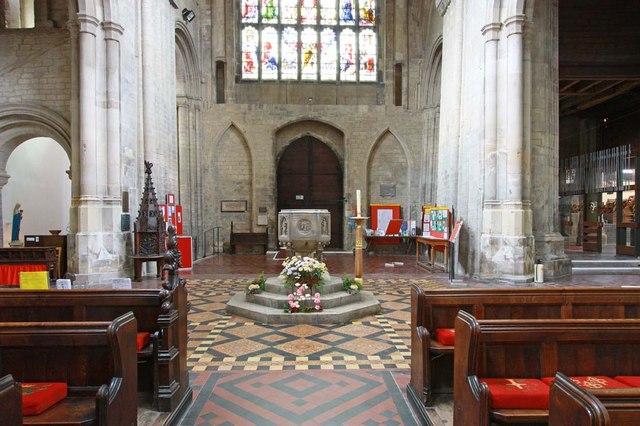 St Margaret, King's Lynn, Norfolk - West end
