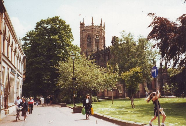 St. Mary's parish church, Nantwich