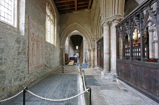 St Margaret, King's Lynn, Norfolk - South aisle