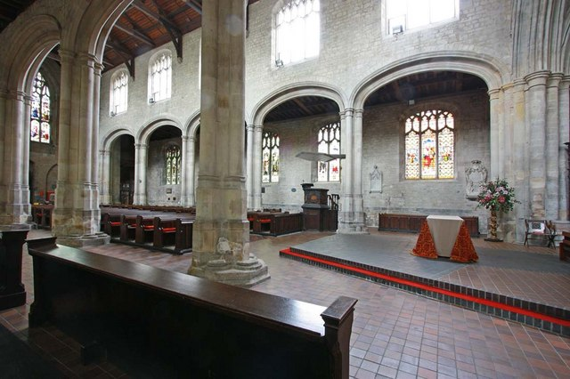St Margaret, King's Lynn, Norfolk - Interior