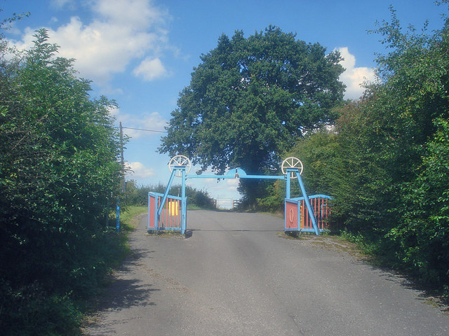 Entrance to Oakthorpe Picnic Area