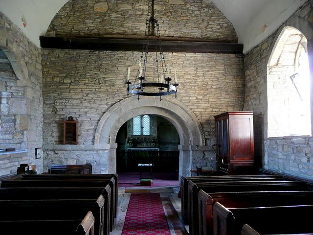 St. John the Baptist's church, Tredington - interior