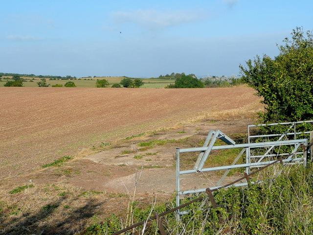 Farmland east of Notcliffe House