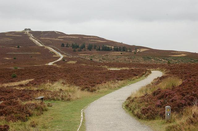 Path to Moel Famau