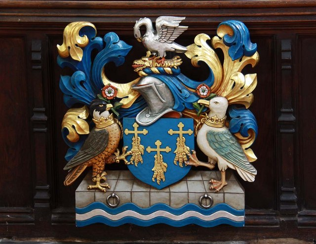 St Margaret, King's Lynn, Norfolk - Coat of Arms