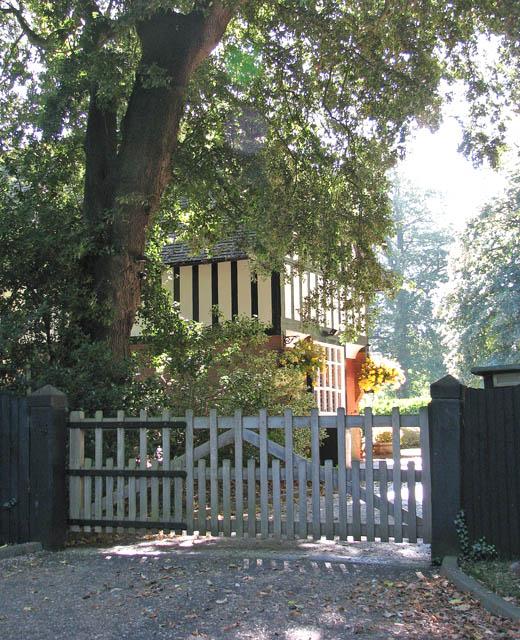 Entrance to Framingham Manor
